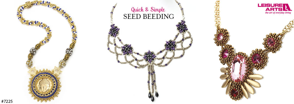 Leisure Arts Quick & Simple Seed Beading