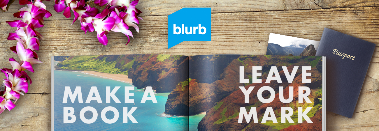 Blurb - Make a Book Leave Your Mark